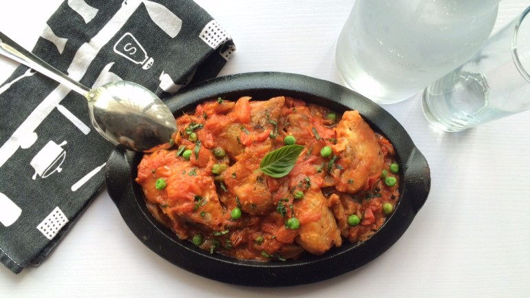 Weekend Recipe With Chef Renee: Easy Peasy Chicken in Tomato Sauce