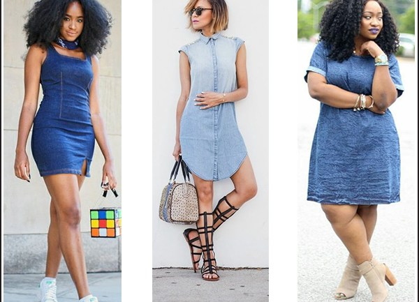 Denim Dress Handy
