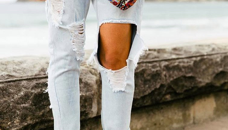 How To Rip Your Jeans