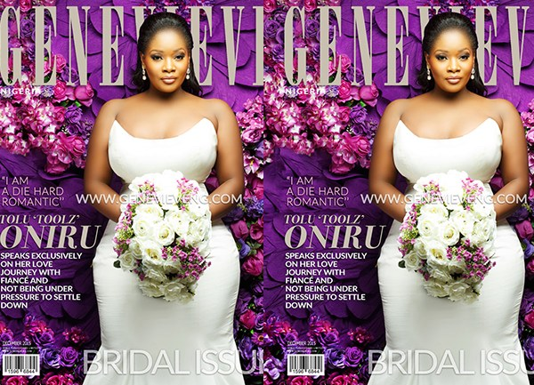 Buxom Delight: Toolz For Genevieve's December Bridal Issue