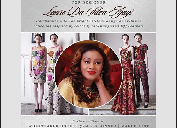 Lanre Da Silva x the Bridal Circle for Her Exclusive Jeff Leatham Inspired Collection