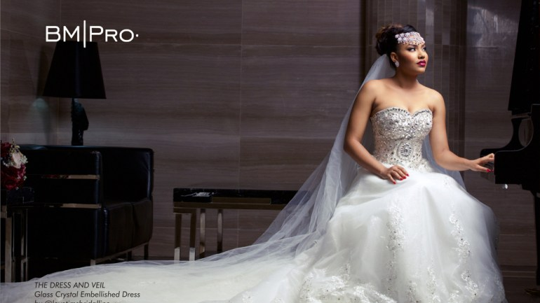 Queen Mother! Anna Banner Is A Beautiful Bride for BM|Pro Covers