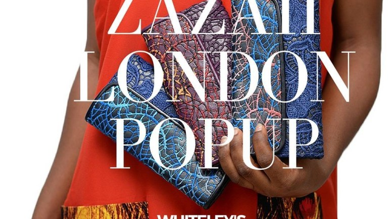 You're Invited: Zazaii Trunkshow Tour, 26-31 July. Whiteley's London