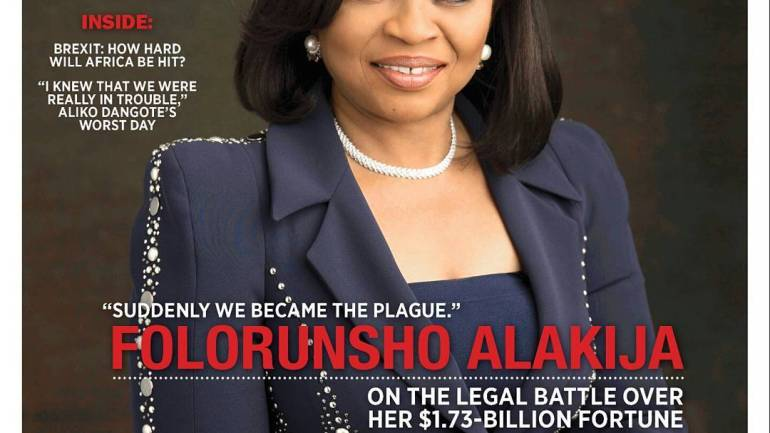 Power! Folorunsho Alakija Covers The August Edition of Forbes Africa Magazine
