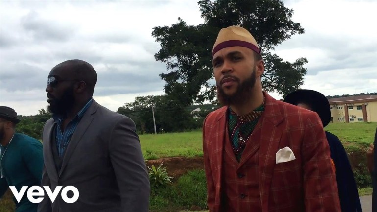 Jidenna Shares Video of the Historic Visit to his Hometown