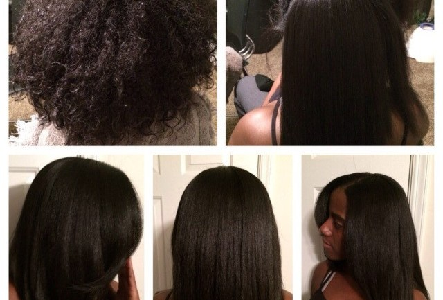 Silk Press and the Natural Hair