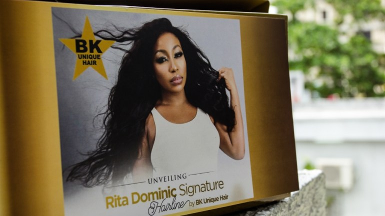 BK Unique Hair Unveils The Rita Dominic Signature Hair Line In Lagos