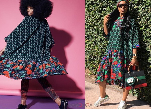 WWIB: The Kenzo-H&M Floral Print Dress