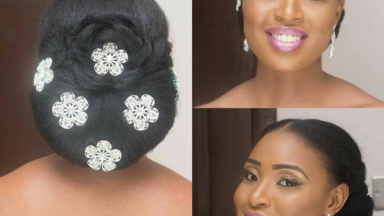 6  Classy Natural Hairstyles For Nigerian Brides!