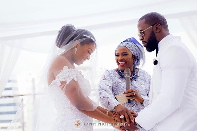 "Mr And Mrs Olurotimi Wedding – ""What God Has Joined Together, Let No Man Put Asunder""!"