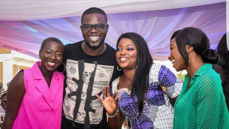 Adesuwa Onyenokwe, Falz, Pasuma, Kate Henshaw, Toke Makinwa And A Host Of Others Were Present At Funke Akindele Bello and Husband; Abdul JJC Bello's New Year House Warming Party. See Photos