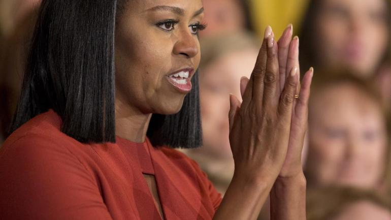 Michelle Obama's Farewell Speech- This Is What We Mean When We Say 'Girl Power'!(A Must See)