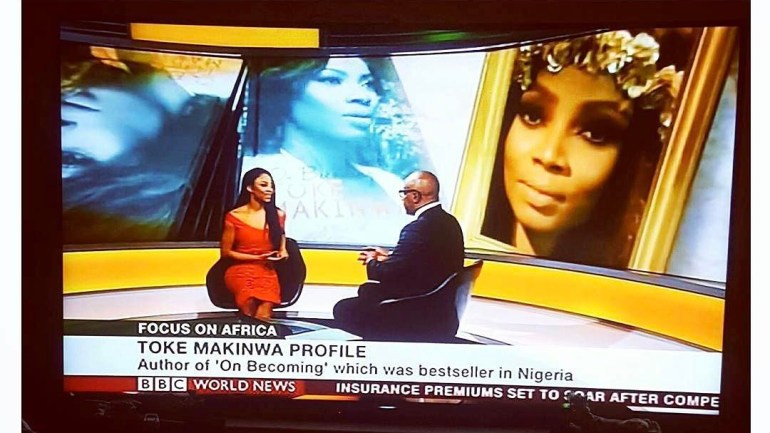 See Images Of Our Toke Makinwa Being Featured On BBC! Who Run The World?