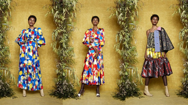 LFW Update: Nigerian Born Designer – Duro Olowu Released New Ready To Wear Collection…..