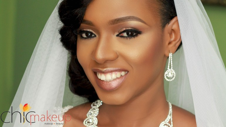 """Wedding Glam Exclusive With Chicmakeupng: """"Chineze Ononye – The Happiest 2016 Nigerian Bride""""!"""