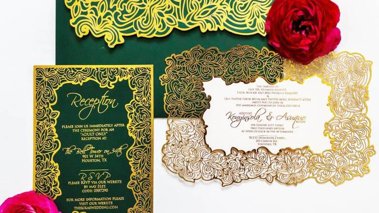 Wedding Stationery With A Difference / Parchment By Dami!