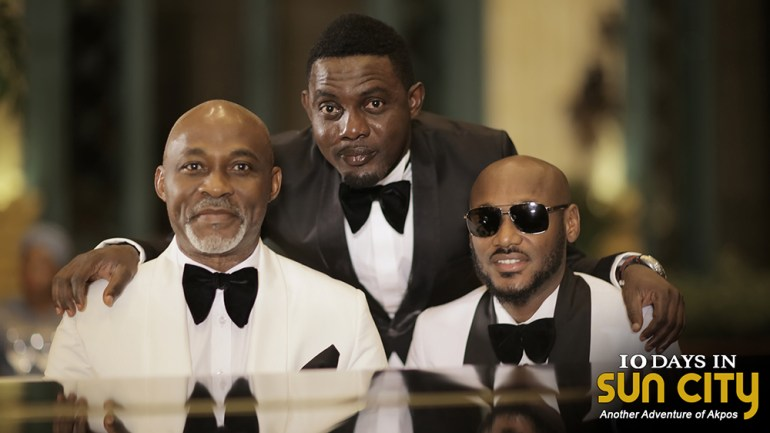 """New Video Alert: 2Baba African Queen (Remix) As The Official Soundtrack for Upcoming Nollywood Movie """"10 Days In Sun City"""" Starring AY Comedian, RMD, Adesua Etomi & Others!"""