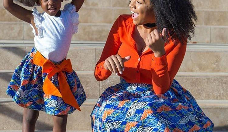 Ankara Styles #306: Matching With Mommy!