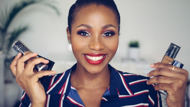 Have Oily Skin? Dimma Umeh (That Igbo Chick) Recommends These Foundations For You