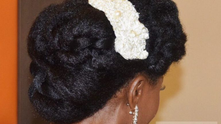 This Simple Natural Hair Tutorial By Tasala HQ Will Have You Wedding Guest Ready Under 10 Minutes