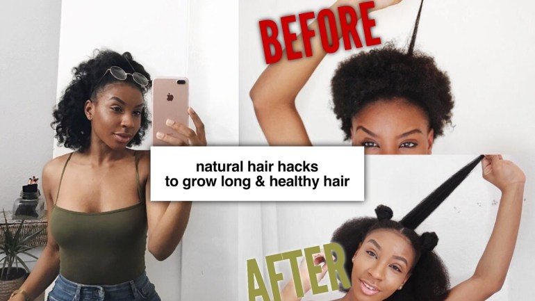 11 Hacks To Grow Long & Healthy Natural Hair By Chrissie Milan