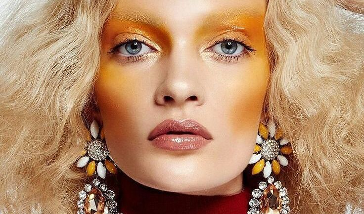 Beauty Trend: Would You Try This Yellow Blush Trend?