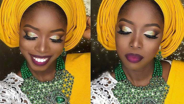 MakeUp & Gele: Colour Is Everything!