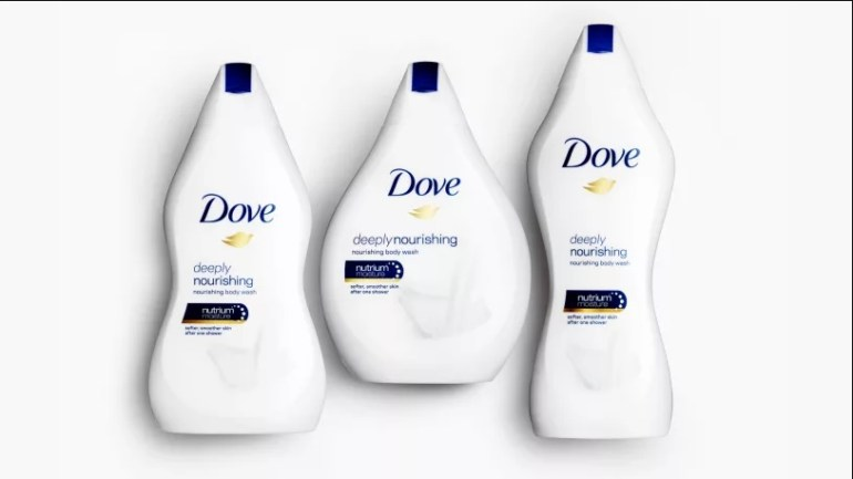 Fat, Slim or Short? There's A Dove Bottle For You!