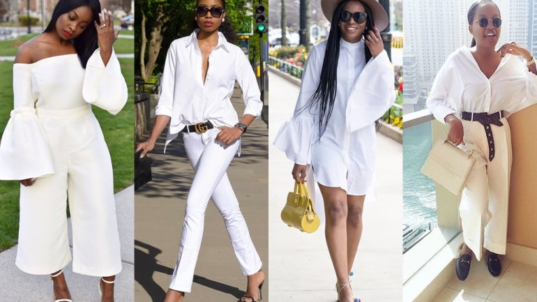 A Quick Guide To Wearing Color – White