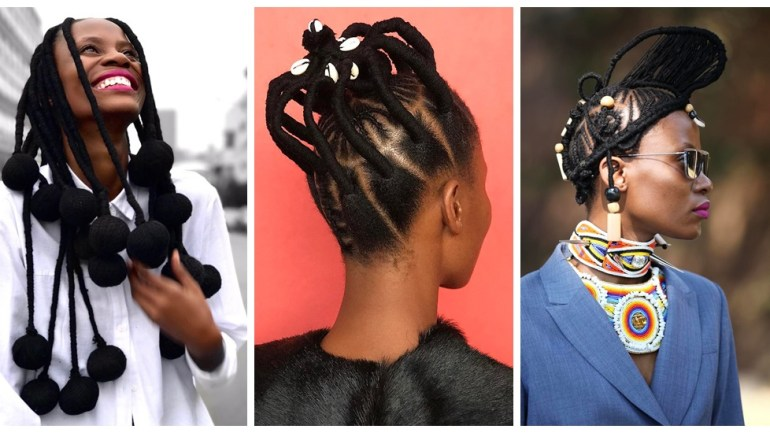 How Kwena Baloyi Is Making A Statement In Her African-Inspired Hairstyle!