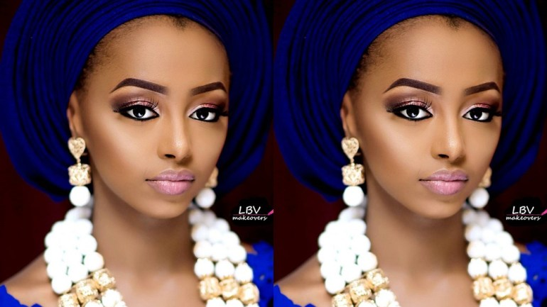 10 Insanely Gorgeous Traditional Bride Face Beat By LBV Makeovers