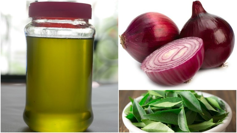 #DIY – How To Make Onion Hair Oil At Home: For Hair Growth & To Reduce Hair Fall