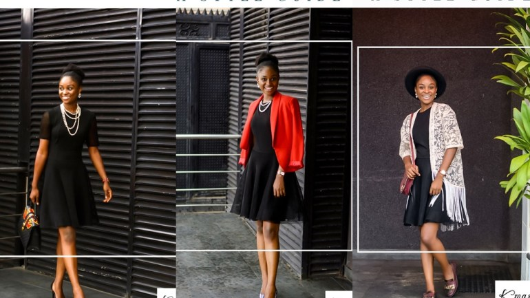 One Dress, Five Different Ways – Kwasee Fashion Shows Us How To Style The LBD