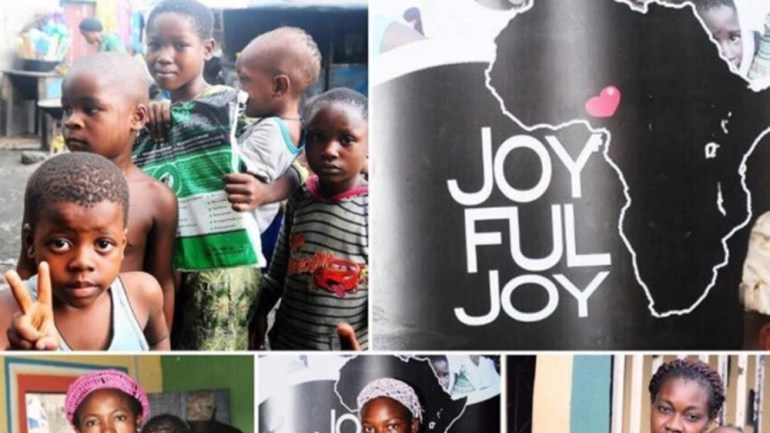 All The Pictures From Osas Ighodaro Ajibade's Joyful Joy Foundation's Monthly Outreach To Curb Malaria & Poverty Among Children