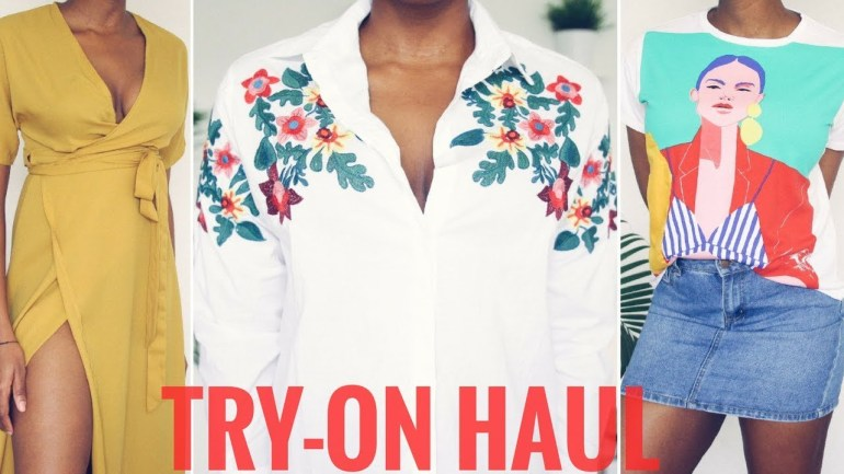 Check Out The Try On Fashion Haul Video By Dimma Umeh