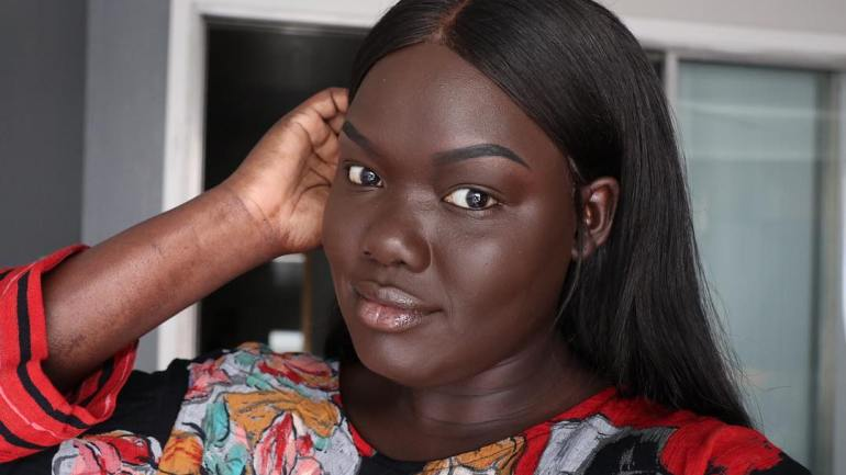 Dark Skinned Beauty YouTuber Nyma Tang Tries On Fenty Beauty's Pro Filt'r Foundation Darkest Shade 490 + Her First Impressions of other Products!