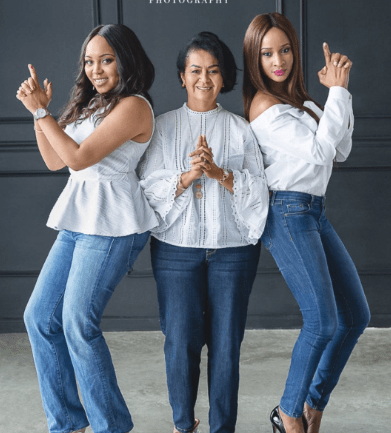 The Wellington Women Slay In Banky W's Family Photo Session #BAD2017