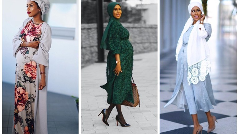 Hijab & Turban Styles : Style Inspiration From The Very Pregnant Basma K!