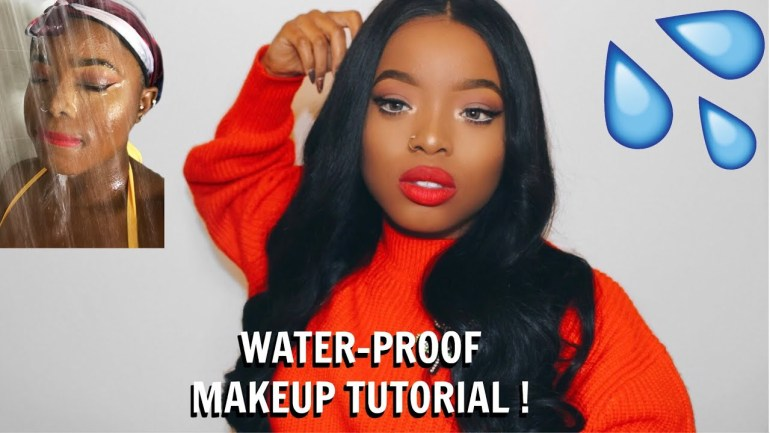 Toni Olaoye Shows Us How To Make Our Makeup Waterproof With These Easy Step!