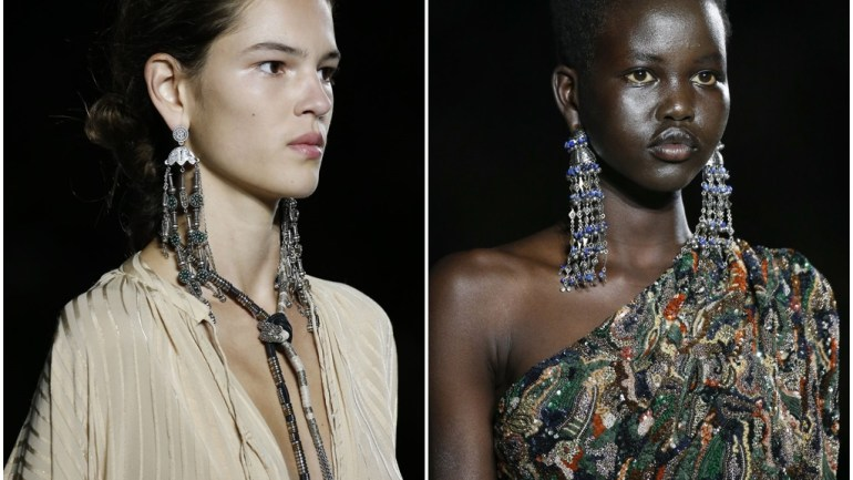 These Saint Laurent Earrings Look Absolutely Fabulous