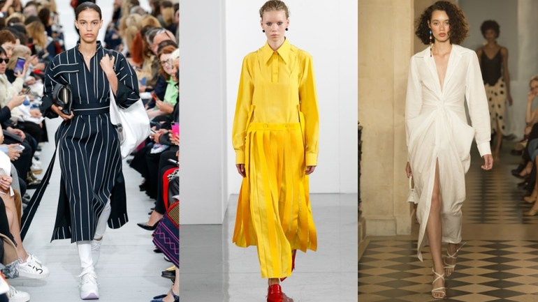 Fashion: The Midi Dresses That Ruled The Spring/Summer 2018 Runway!
