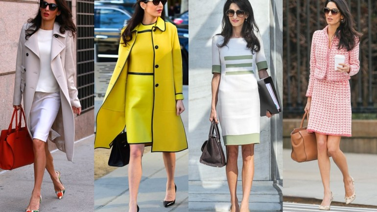 Amal Clooney Does Work Style Perfectly!