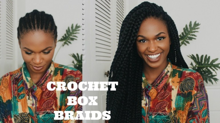 Hairstyle Alert! See How To Install Your Crotchet Box Braids By Kiitana!