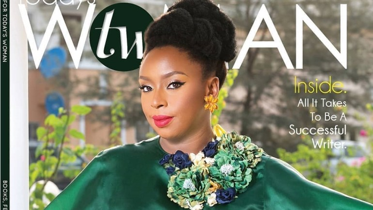 Cover Girl Alert! Prolific Writer, Chimamanda Adichie Is Today's Woman April Cover!