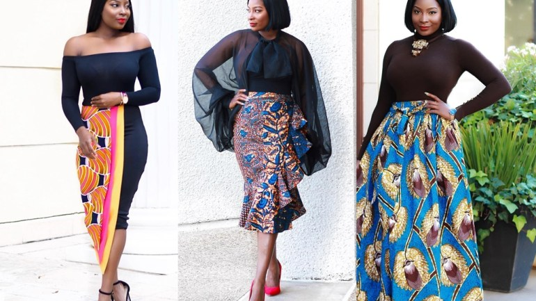 3 Stylish Ankara Skirts That Will Upgrade Your Look!