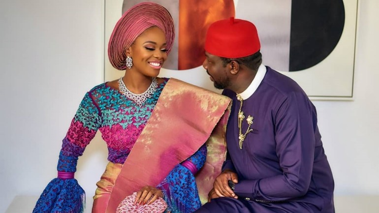 Well Coded But Beautiful! Get All The Scoop From Zainab Balogun & Dikko Nwachukwu's Traditional Engagement Ceremony!