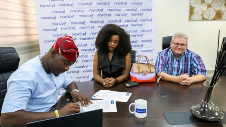 Cee-C Signs Endorsement Deal With NairaBet