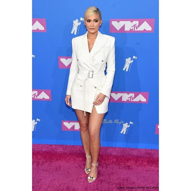 Kylie Jenner, Ashanti And Others Stun At the 2018 MTV VMAs