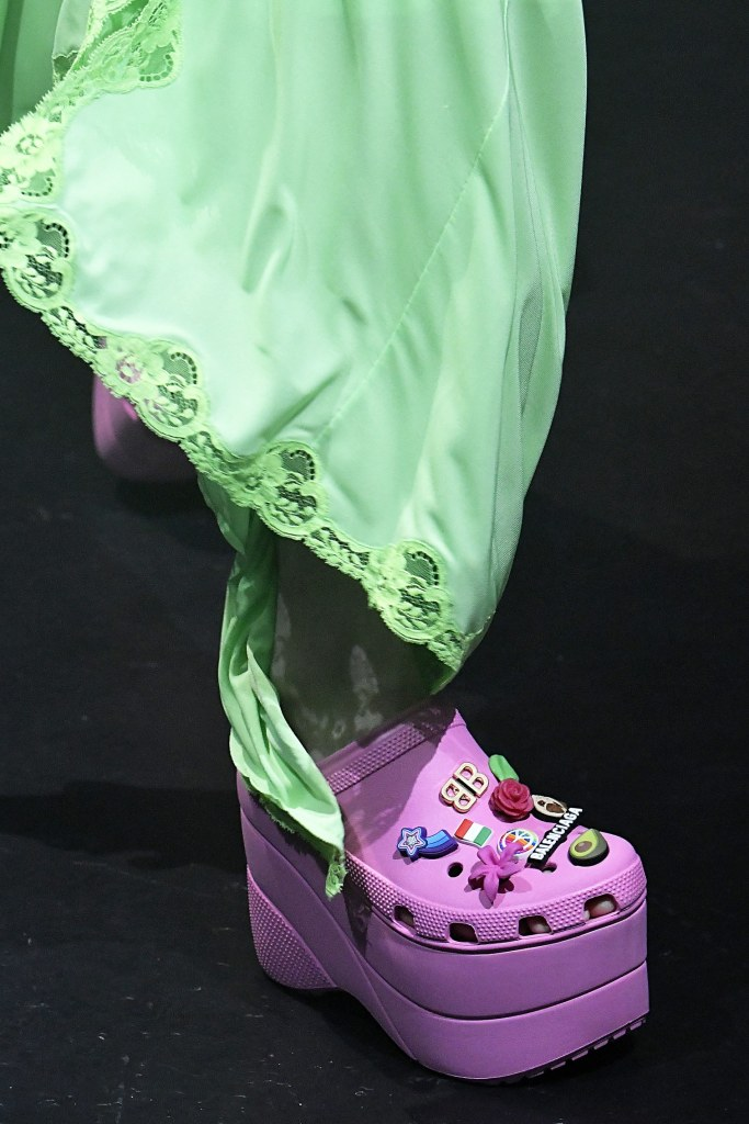 the crocs heel