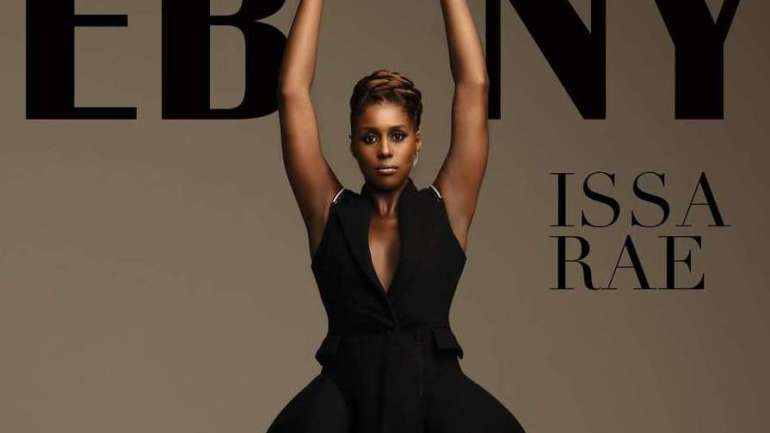 Issa Rae Is The Cover Of Ebony Magazine's September 2018 Fashion Issue